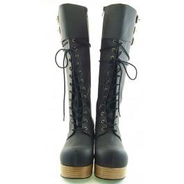 Sleek & Chic Calf Boots