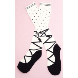 Secret Shop Ballerina Lolita Socks