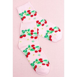 Secret Shop Strawberry Lolita Ankle Socks
