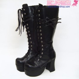 Lolita Twin Bow Boots
