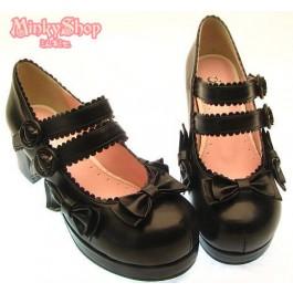 Secret Shop Sweet Lolita Bow Shoes