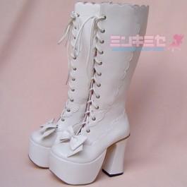 Gothic Lolita Platform Boots