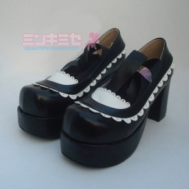 Lolita Maid Ribbon Shoes