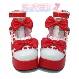 Sweet Lolita Dolly Scalloped Shoes