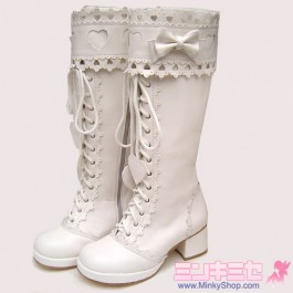 Baby Style Sweet Heart Decoration Boots
