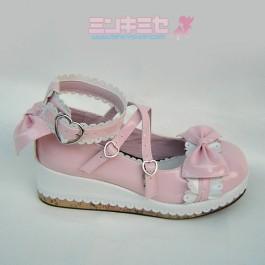 Scalloped Lolita Platform Shoes