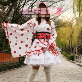 Sweet Lolita Strawberry Yukata