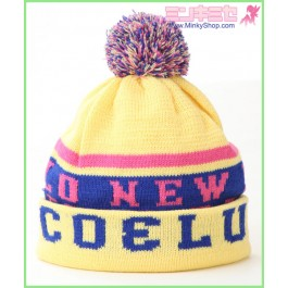 COCOLULU Hello Beanie Knit Hat