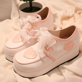 Harajuku Love Platform Shoes