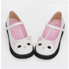 Kitty Cat Mary Jane Shoes