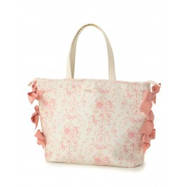 LIZ LISA Rose Ribbon Tote Bag