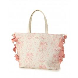 LIZ LISA Rose Ribbon Tote Bag