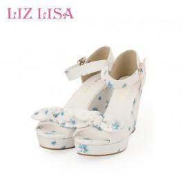 Liz Lisa Summer Floral Heels