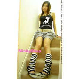 Japanese Striped Leg Warmers