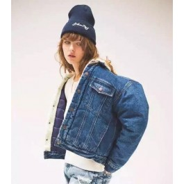 Moussy Vintage Borg Denim Jacket