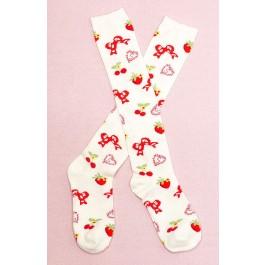 Secret Shop Cherry Sweet Lolita Knee Socks