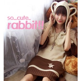 Kawaii Bunny Ear Hoodie Jumper