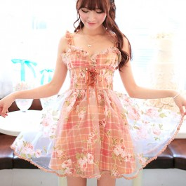 Summer Fairy Floral Dress