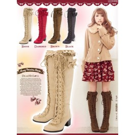 Kawaii Lace Princess Boots