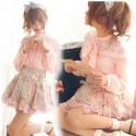 Classical Lace Chiffon Blouse