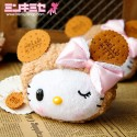 Biscuit Bear Hello Kitty Purse/Make-up Bag