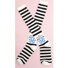 Secret Shop Punk Lolita Striped Socks