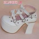 Princess Lolita Triple Bow Shoes