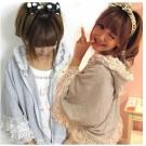 Shibuya Lace Sweater Cape