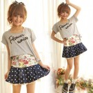 Flower Union Two Piece Top