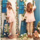 Liz Lisa Pearl Pink Chiffon Dress