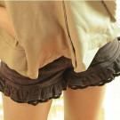 Gyaru Ruffle-Hem Shorts