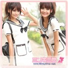 School Girl Sailor Dress