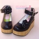 EGL Flower Platform Shoes