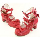 Sweet Lolita Classic Ribbon Shoes