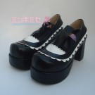 Lolita Maid Ribbon Shoes