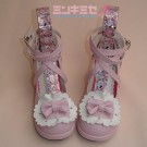 Splash Heart Lolita Shoes
