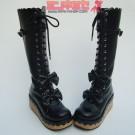 Gothic Lolita Cork Platform Boots
