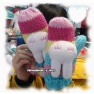 Adorable Bunny Gloves Mittens