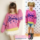 Candy Stripper Original Star Sweater