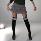Football Stripe Knee High Socks