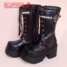 Studded Gothic Punk Boots