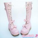 Sweet Lolita Cork Platform Boots