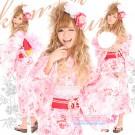 Shibuya Gyaru Candy Rose Yukata Set