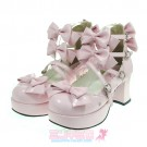 Classic Lolita Ribbon Shoes