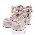 Classic Lolita Ribbon Shoes