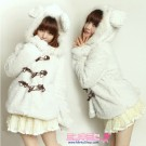 Cute Bear Ear Toggle Coat