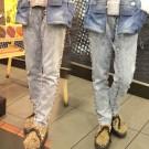 Wakatsuki Chinatsu Studded Stonewash Jeans
