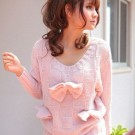 Sweet Bow Angel Sweater