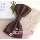 Large Suede Hair Bow Headdress