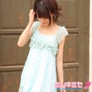 Japan Fresh Snowflake Dress